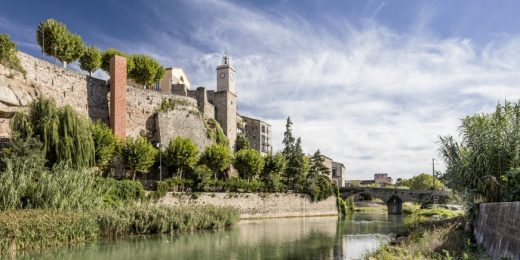 New Lift to the Old City Centre of Gironella
