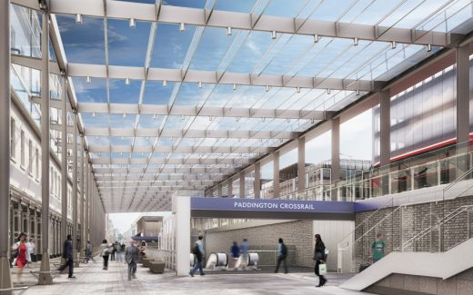 Paddington Crossrail Station Building