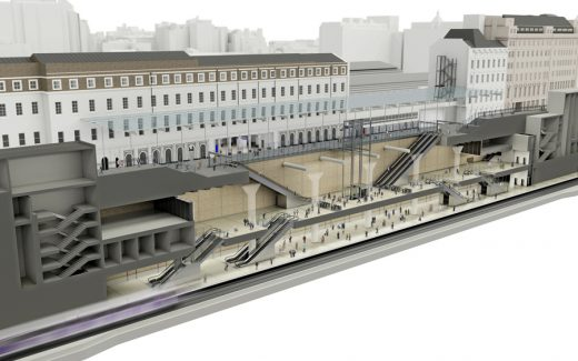 New Rail Transport Hub in London
