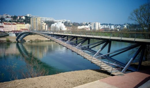 New River Structure in southern France design by Dietmar Feichtinger Architectes