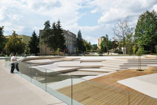 Renovation of Promenada Velenje, Slovenia