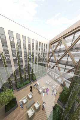 Sunderland Brewery Site Building by FCBS