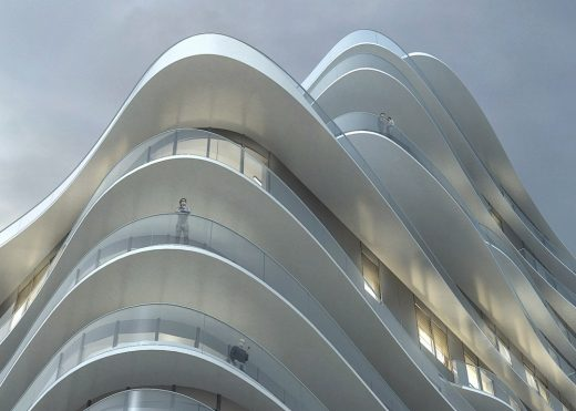 UNIC Housing Paris by MAD Architects