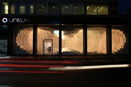 Unilux Showroom Lebanon architecture news