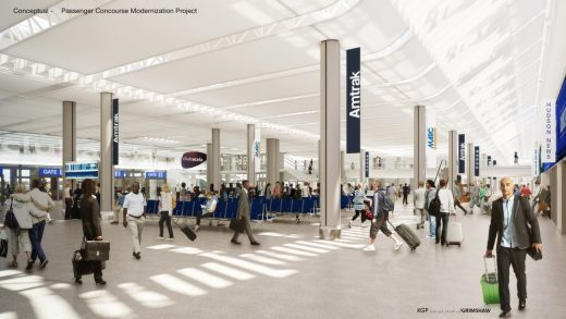 Washington Union Station Concourse Modernization Project
