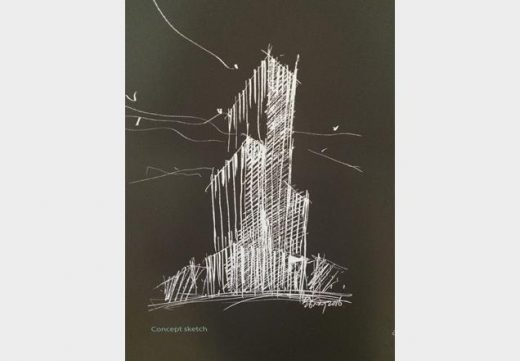 1 Leadenhall London Tower sketch