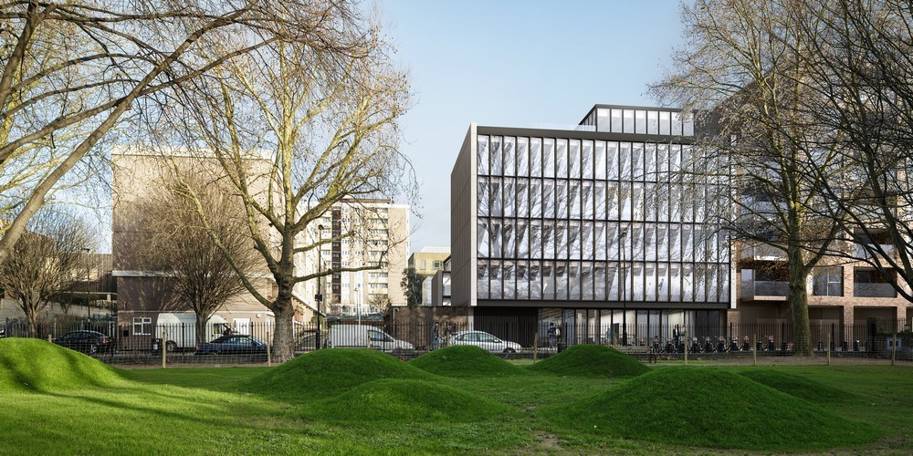 Anna Freud Centre Campus Building in Kings Cross - e-architect