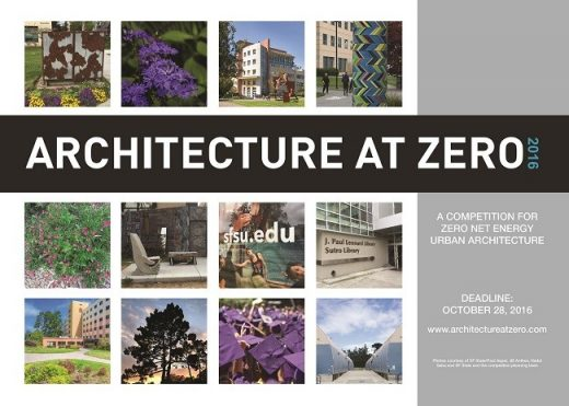 Architecture at Zero 2016 competition