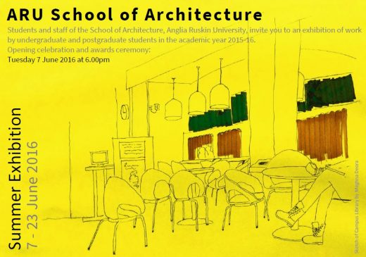 ARU School of Architecture Summer Exhibition