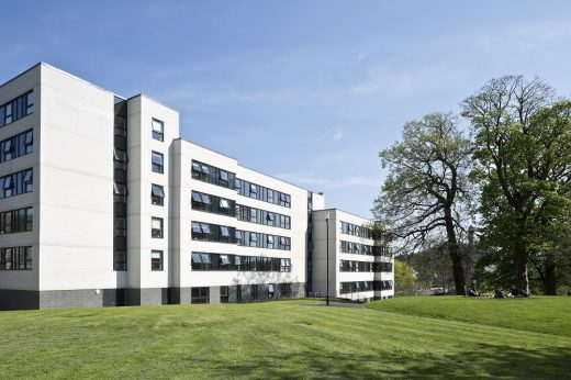 Beech Court hall of residence Stirling University building