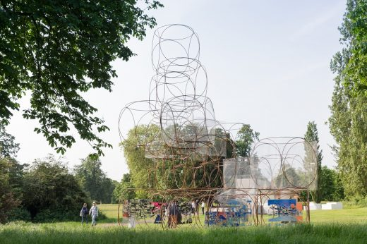 Serpentine Summer House 2016 by Yona Friedman