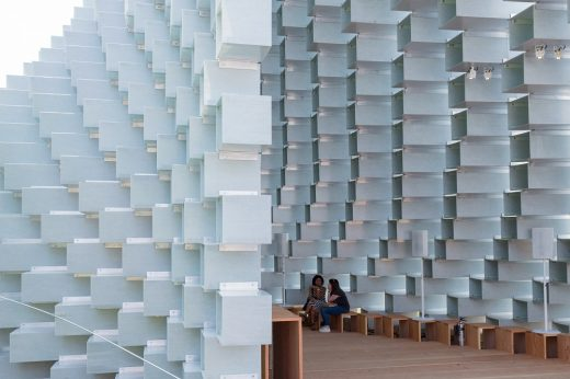 Serpentine Gallery Pavilion 2016 in London by BIG