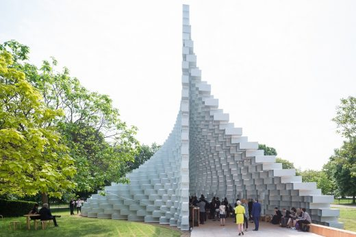 Serpentine Gallery Pavilion 2016 by BIG