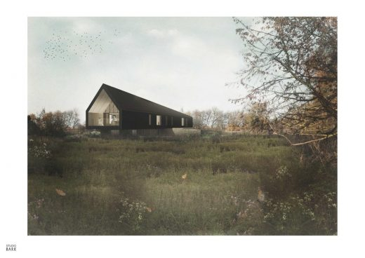 Studio Bark Received Full Planning Approval For Black Barn, A Two Storey,  Five Bedroom, Off Grid Paragraph 55 Home In Suffolk. The National Planning  Policy ...