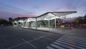 First Bus Rapid Transit Station