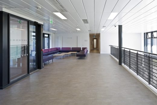 Juniper Court halls of residence Stirling University lobby