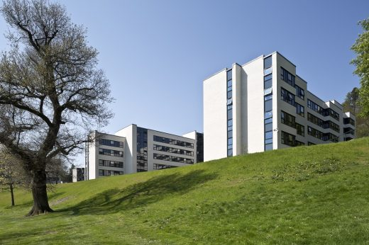 Juniper Court halls of residence Stirling University by Lewis & Hickey Architects
