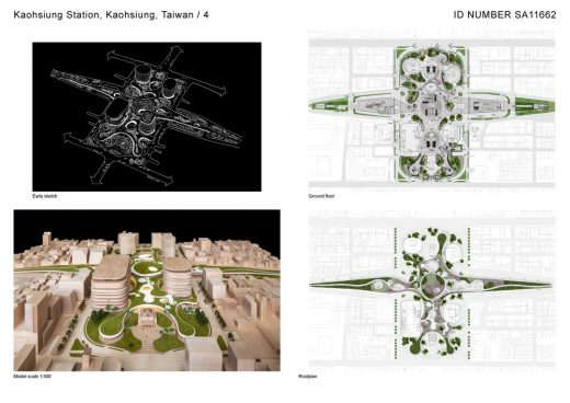 Kaohsiung Station building design by Mecanoo architecten