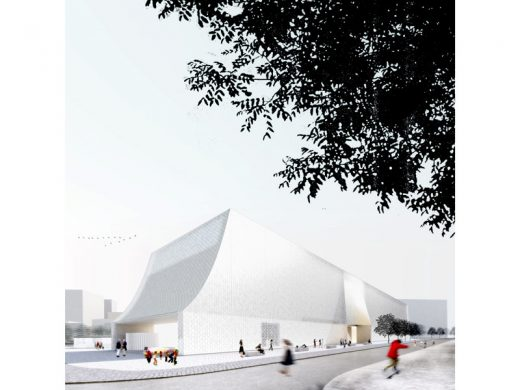 Latvia Museum of Contemporary Art Architecture Competition Concept by Lahdelma & Mahlamäki Architects
