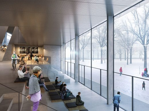 Latvia Museum of Contemporary Art Architecture Competition Concept by Henning Larsen Architects