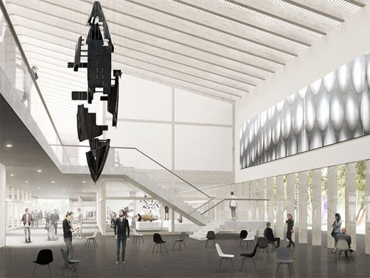 Latvia Museum of Contemporary Art Architecture Competition Concept by Sauerbruch Hutton