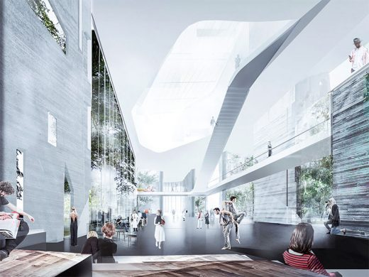 Latvia Museum of Contemporary Art Architecture Competition Concept by wHY