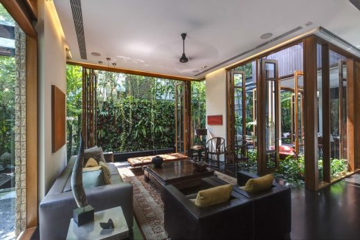 Contemporary Singaporean Home, South East Asia – design by AAMER Architects