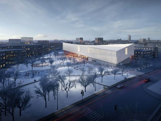 LMoCAF Architecture Competition in Riga, Latvia, design by Henning Larsen Architects and MARK arhitekti