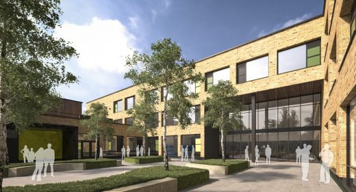 Ongar Academy building design by Bond Bryan Architects
