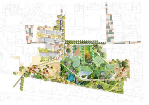 Parco Centrale di Prato Competition design by EMBT