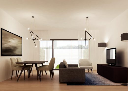 New Housing in Rome design by LAD, Architects