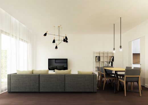 New Houses in Rome by LAD, Architects