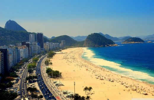 Copacabana beach - RIO OLYMPICS: Sustainable Fanbox Competition site
