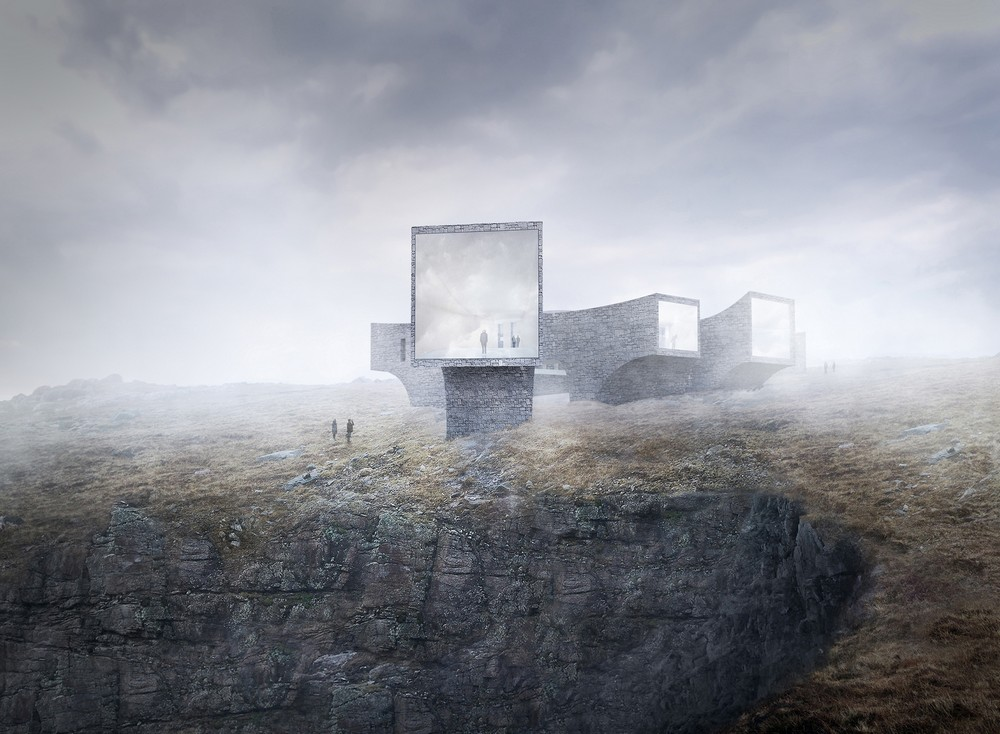 scottish architecture building Architecture students angus ritchie and daniel tyler recently completed lookout , a tiny mirrored structure created as part of the scottish.