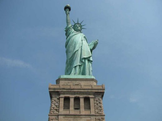 The Statue of Liberty monument