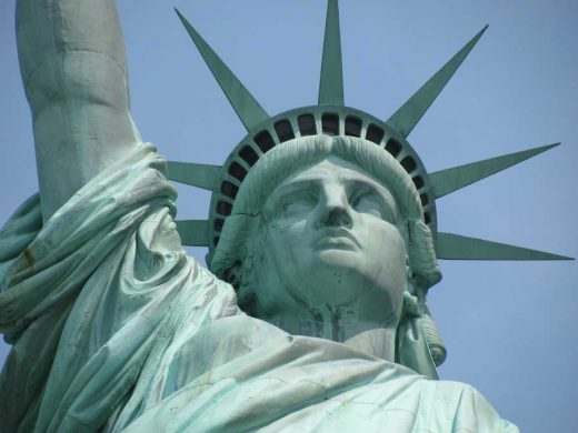 The Statue of Liberty sculpture