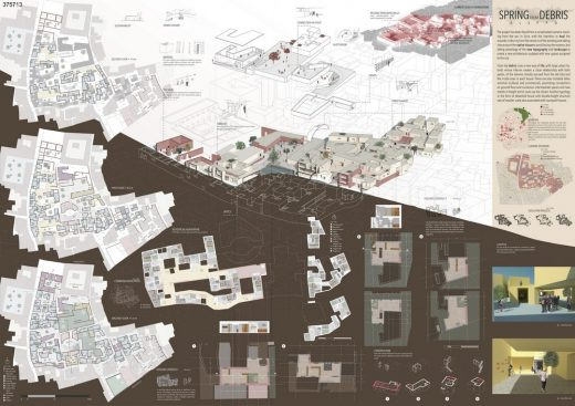 Syria: Post-War Housing Competition 2nd Place