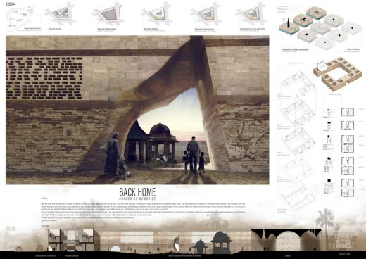Syria: Post-War Housing Competition 3rd Place