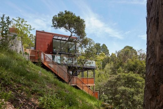 Tamalpais house in mill valley e architect for Mill valley architects