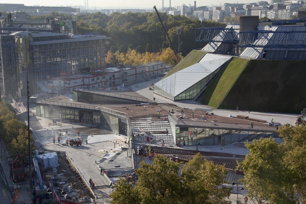 The AccorHotels Arena 17 E architect