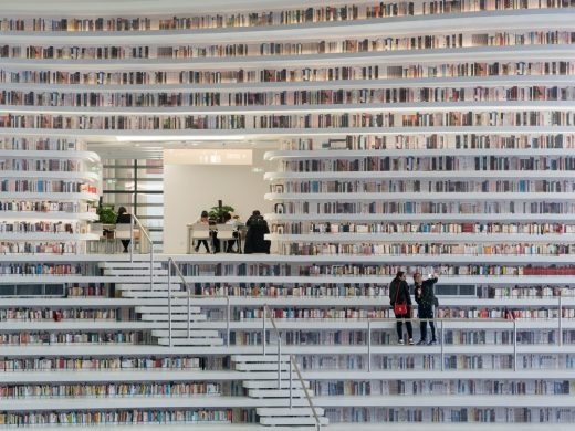 Tianjin Binhai Library Building by MVRDV Architects