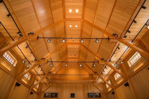 The Olivier Music Barn at Tippet Rise Art Center