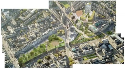 Union Terrace Gardens Aberdeen design proposal
