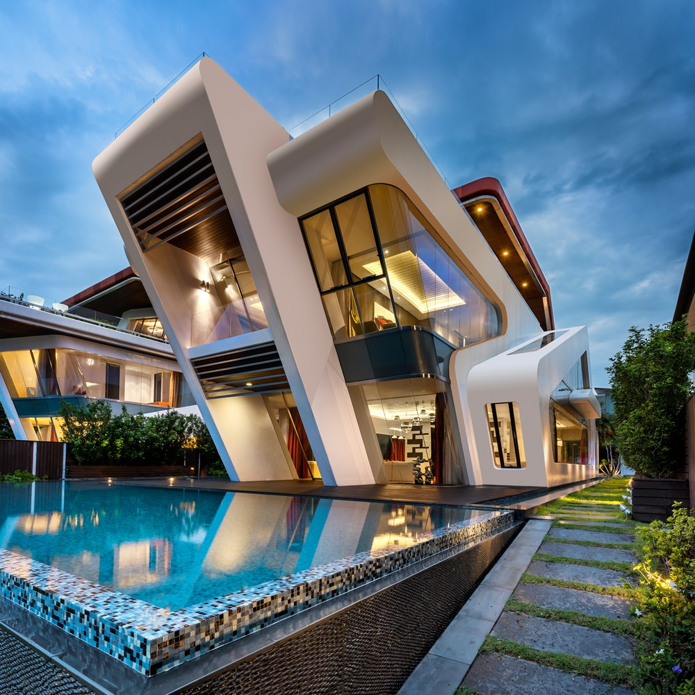 Villa mistral house on sentosa island e architect - Vallas baratas ...