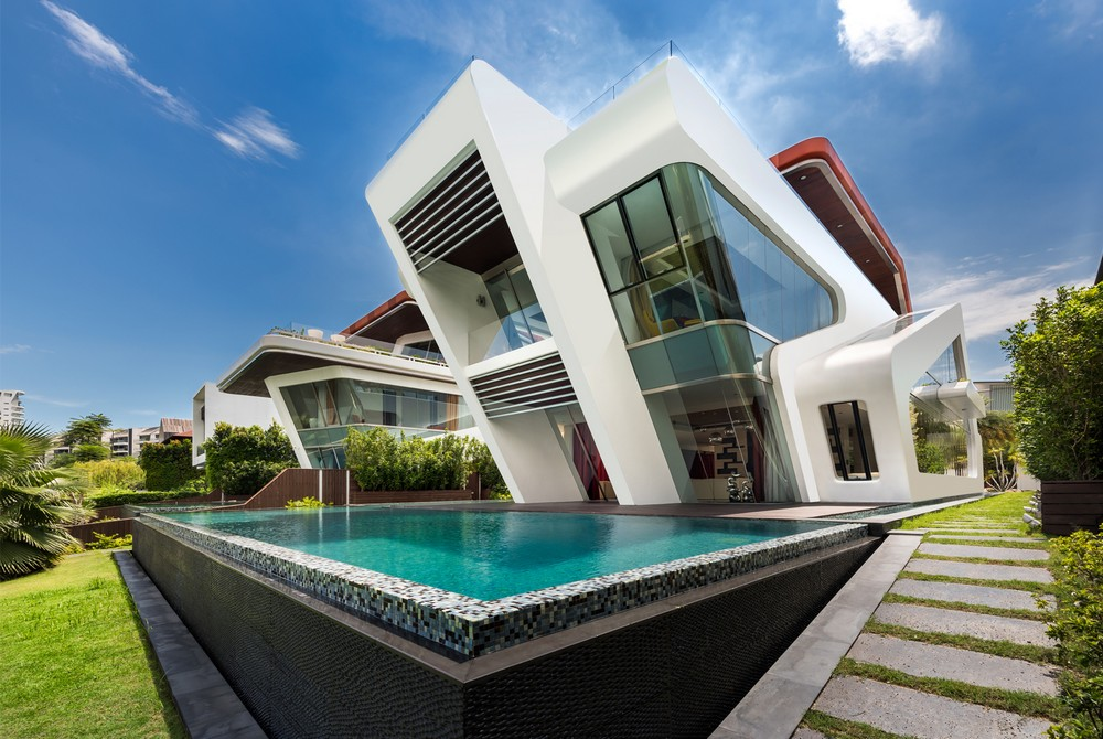 Villa mistral house on sentosa island e architect for Villa architect
