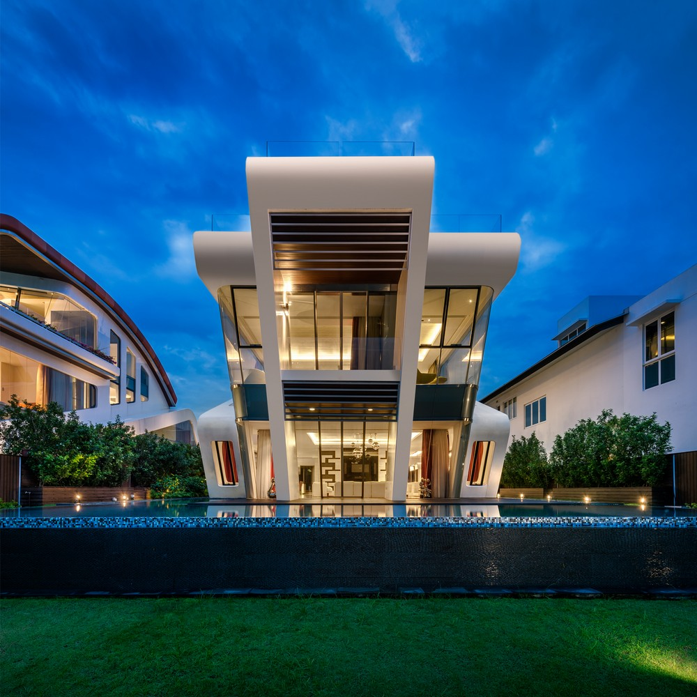 Modern Architecture Small Houses: Villa Mistral: House On Sentosa Island