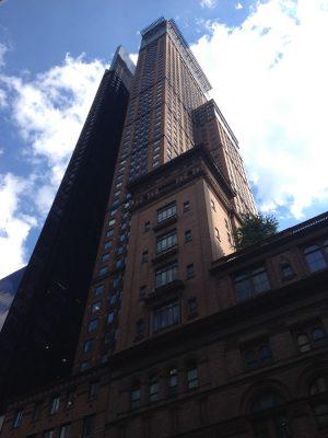 West 57th Street New York skyscraper buildings