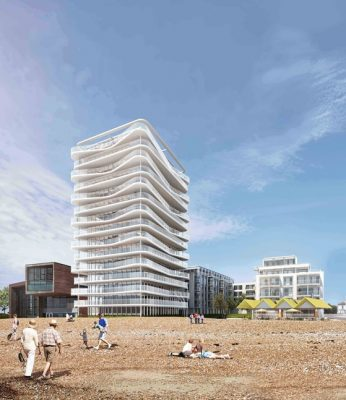 Aquarena, Worthing by Allies and Morrison