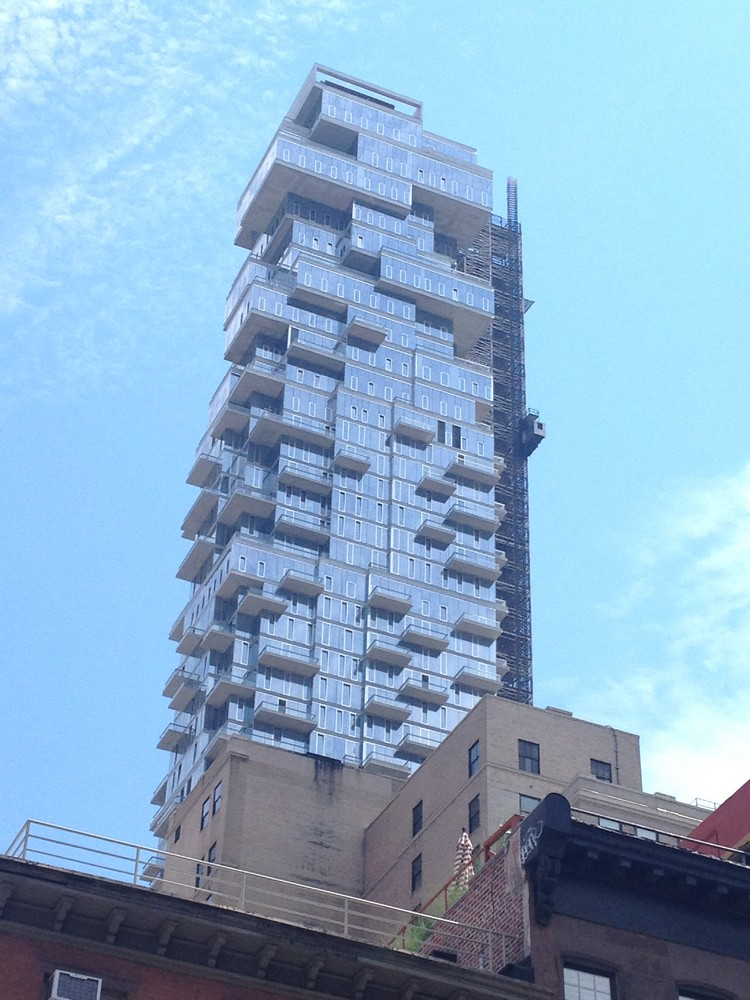 What Is Future Of Libraries >> 56 Leonard Street New York: Tribeca Residential Tower - e-architect