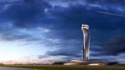 Air Traffic Control Tower and Technical Building, Istanbul